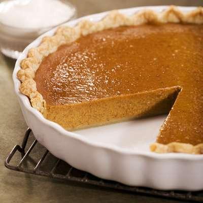 Pumpkin Bourbon Pie Recipe