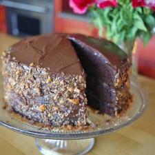 Chocolate Buttermilk Layer Cake