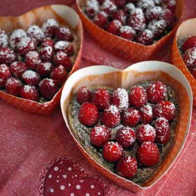 Chocolate Heart Valentine: Raspberry Tart with Gluten-Free Crust