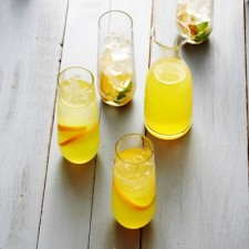 Fruity White Wine Spritzers