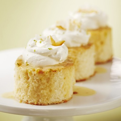 Less Guilt Dessert: Coconut-Lime Tres Leches Cake