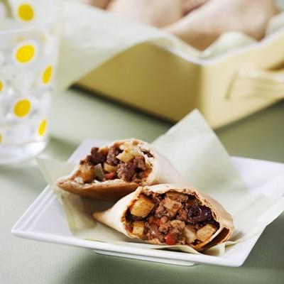 Easy Baked Picadillo Empanadas & Abuelita Chocolate Tamales