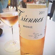 Triennes Rose: French rose wine