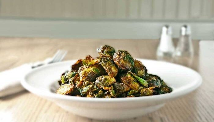 Deep Fried Brussels Sprouts