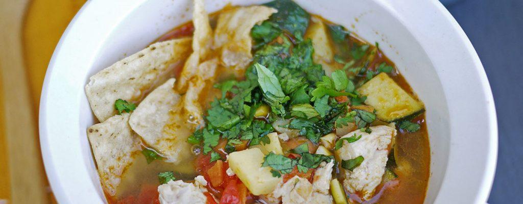 Scrumptious Homemade Tortilla Soup Recipe
