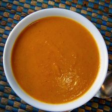 Tomato Ginger Carrot Soup