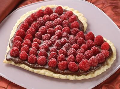 Chocolate Heart Valentine: Raspberry Tart with Gluten Free Pie Crust